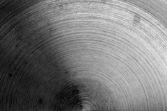 Superficie di metallo con i graffi in bianco e nero Immagini Stock Libere da Diritti