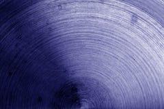 Superficie di metallo con i graffi nel tono blu Immagine Stock Libera da Diritti