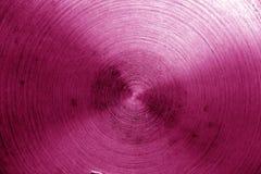 Superficie di metallo con i graffi nel tono rosa Immagine Stock Libera da Diritti