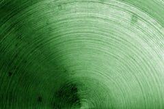 Superficie di metallo con i graffi nel tono verde Immagine Stock Libera da Diritti