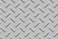 Superficie di metallo Crosshatched immagine stock