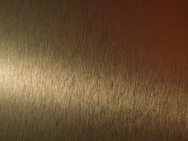 Superficie di metallo dell'oro Immagini Stock Libere da Diritti