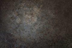 Superficie di metallo della ruggine di Grunge Fotografie Stock