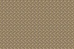 Superficie di metallo dorata Immagini Stock