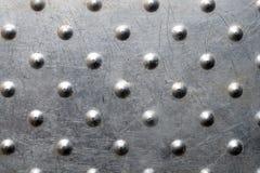Superficie di metallo graffiata alluminio Fotografia Stock