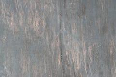 Superficie di metallo nera graffiata Fotografia Stock
