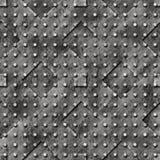 Superficie di metallo sollevata immagine stock