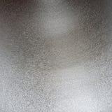 Superficie di metallo strutturata, alluminio d'argento Immagini Stock
