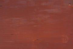 Superficie di metallo verniciata Fotografie Stock Libere da Diritti