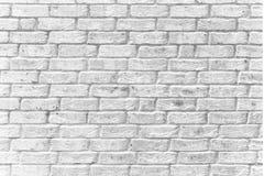 Superficie di pietra del contesto del fondo della parete dello stucco del mortaio dei mattoni bianchi fotografie stock