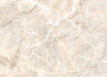 Superficie di pietra di marmo beige della luce naturale per il bagno o la cucina Immagini Stock Libere da Diritti