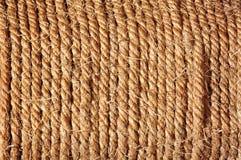 Superficie di struttura della corda Fotografia Stock