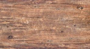 Superficie di vecchio legno annodato con colore, struttura ed il modello della natura immagini stock