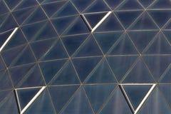 Superficie di vetro sporca Fotografia Stock