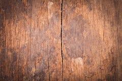 Superficie e fondo di vecchio legno dello strato Fotografie Stock