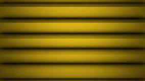 Superficie geométrica poligonal amarilla Fondo inconsútil generado por ordenador del movimiento del extracto del lazo para el esp almacen de video
