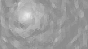 Superficie geométrica poligonal blanca fondo inconsútil generado por ordenador del movimiento del extracto del lazo almacen de video