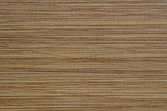Superficie grabada en relieve del marrón de la textura con las rayas caóticas Fotografía de archivo libre de regalías