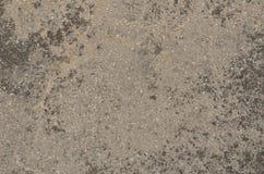 Superficie grigia strutturata Weathered della pietra artificiale fotografia stock libera da diritti
