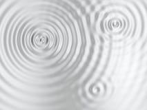 Superficie increspata argento Fotografie Stock Libere da Diritti