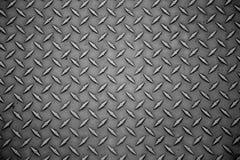Superficie industriale dello strato del fondo di piastra metallica Fotografia Stock