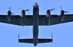 Superficie inferior de Lancaster Foto de archivo libre de regalías