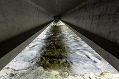 Superficie inferior del puente Fotos de archivo libres de regalías