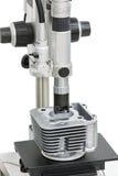 Superficie lavorante di ispezione dell'operatore del cilindro del corpo dai micro Immagini Stock Libere da Diritti