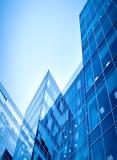 Superficie lisa de edificios modernos panorámicos Foto de archivo