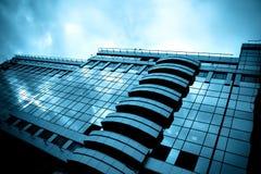 Superficie lisa de edificios modernos panorámicos Imagen de archivo