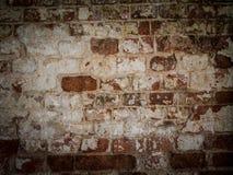 Superficie lisa della muratura antica Fondo astratto con il vecchio muro di mattoni Immagine Stock Libera da Diritti