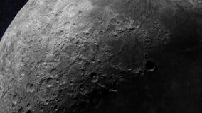 Superficie lunar stock de ilustración