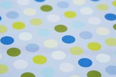 Superficie macchiata blu Fotografia Stock