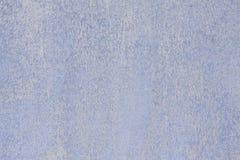 Superficie macchiata e stagionata blu-chiaro e bianca del fondo immagini stock