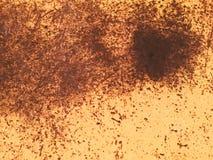 Superficie metálica oxidada Fotografía de archivo libre de regalías
