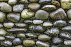Superficie modellata della parete di pietra Fotografia Stock