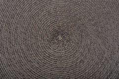 Superficie negra del intertexture de la hierba Fotografía de archivo libre de regalías