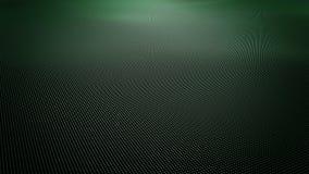 Superficie ondulada del verde del extracto hecha de pequeñas bolas almacen de metraje de vídeo
