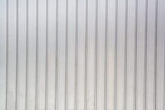 Superficie ondulata di struttura del metallo, fondo d'acciaio galvanizzato Immagini Stock Libere da Diritti