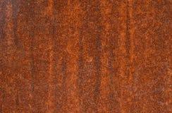 Superficie oxidada del metal fotografía de archivo