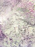 Superficie púrpura y blanca pintada a mano de la lona como fondo imagen de archivo