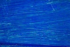 Superficie pintada azul, fondo para el diseño Imagenes de archivo