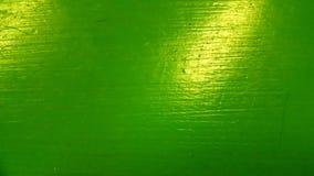 Superficie pintada verde Imágenes de archivo libres de regalías