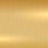 Superficie pulida oro Fotografía de archivo