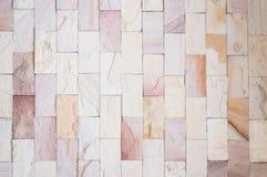 Superficie real desigual decorativa de la pared de piedra con el cemento Imagen de archivo libre de regalías