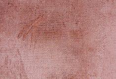 Superficie resistida de la pared del cemento del color rojo Imagen de archivo