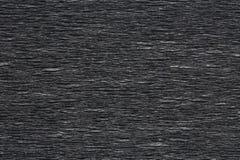 Superficie ribbled il nero Fotografia Stock