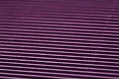 Superficie ribbled púrpura Imagen de archivo