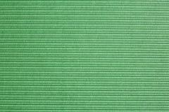 Superficie ribbled verde Fotografia Stock