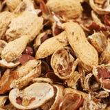 Superficie ricoperta di coperture dell'arachide Immagini Stock